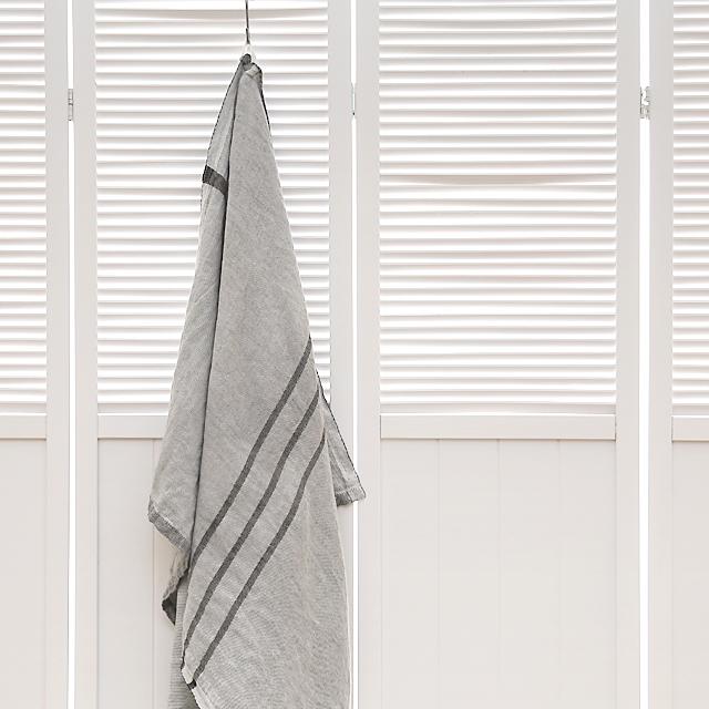 LAPUAN KANKURIT/ラプアンカンクリ/ウォッシュドリネン/バスタオル(70×130cm)/USVA/グレー