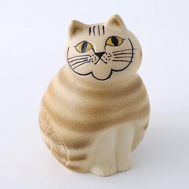 Lisa Larson/リサ・ラーソン/オブジェ/Mia Cat(ネコ)M/ブラウン