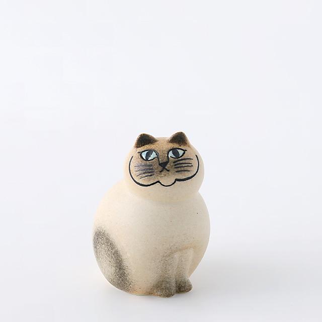 Lisa Larson/リサ・ラーソン/Mia Cat(ネコ)S/ホワイト×グレー