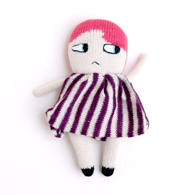 LUCKYBOYSUNDAY/ラッキーボーイサンデー/ぬいぐるみ(編みぐるみ)/Kiki