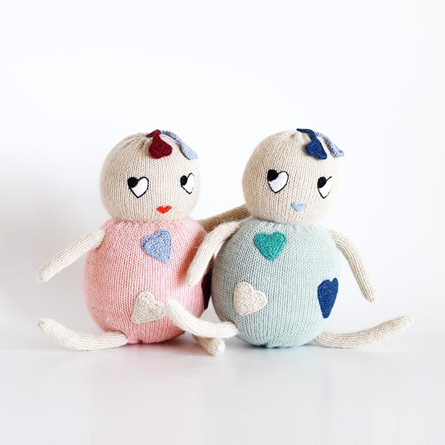LUCKYBOYSUNDAY/ラッキーボーイサンデー/編みぐるみ/LITTLE FRIENDS/Sweetheart(全2色)