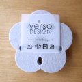 Verso Design/ベルソ・デザイン/Kukka/コースター(4枚セット)(ライトグレー)