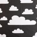 FARG&FORM/フェルグ&フォルム/CLOUDS(雲柄)/ファブリック(幅75cm×長さ50cm単位で切り売り)/ブラック