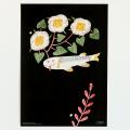 鹿児島 睦/図案ポスター(B3)/魚