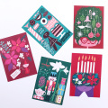 Kehvola Design/ケフボラ・デザイン/クリスマス ポストカード/Sanna Mander(全5柄)