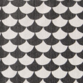 Littlephant/リトルファント/ファブリック(幅73cm×長さ50cm単位で切り売り)/Wave ブラック