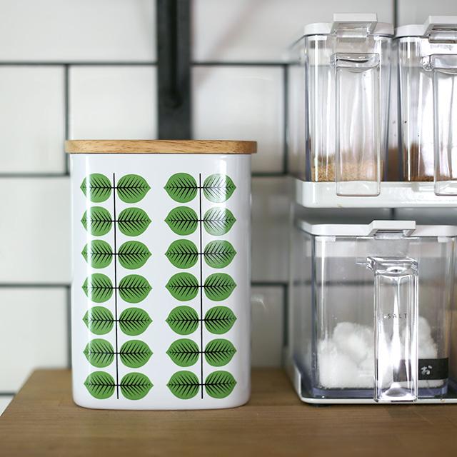 スティグ・リンドベリ/BERSA ベルサ/木蓋付きキャニスター缶