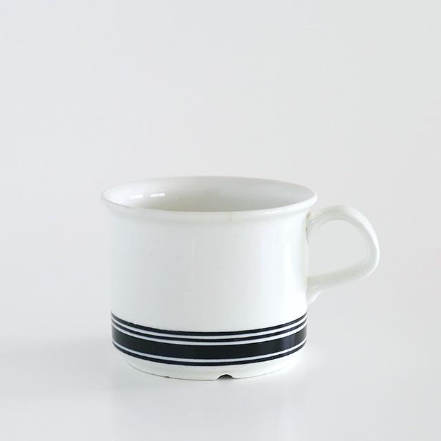 【ヴィンテージ】Arabia/アラビア/Faenza/ファエンツァ(ブラックライン)/コーヒーカップ