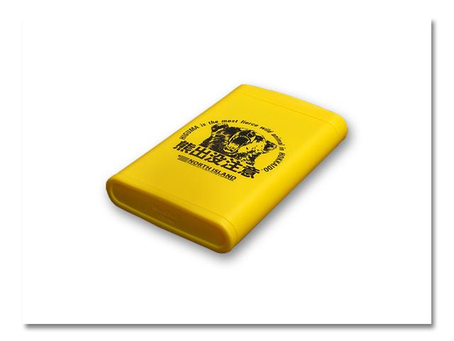 熊 携帯灰皿 ハニカムスリム