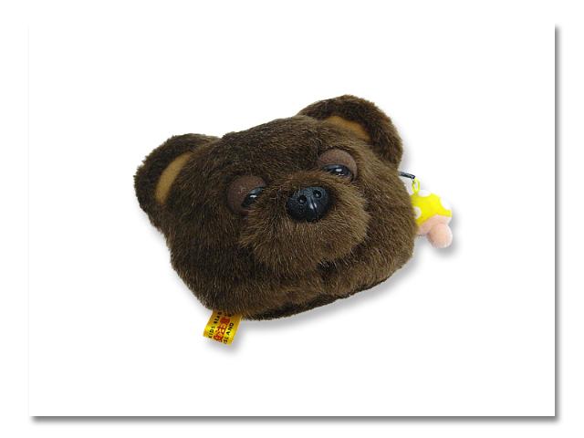 小熊出没 コインパース 眠り