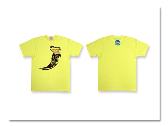 Tシャツ熊爪2006 黄