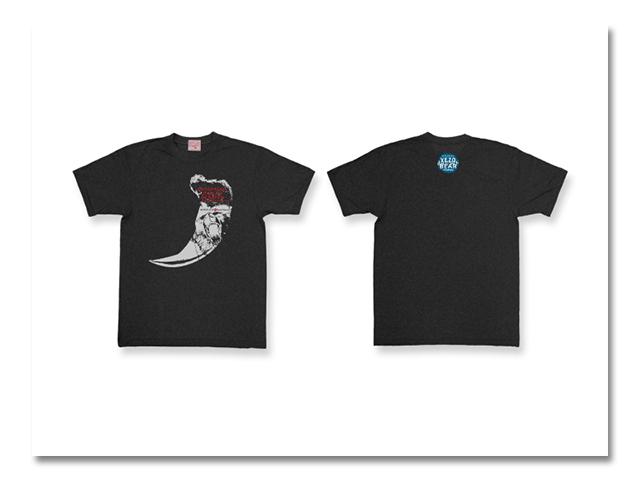 Tシャツ熊爪2006 黒