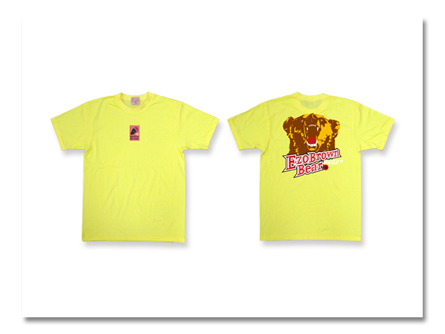 Tシャツ 熊出没 2003 黄
