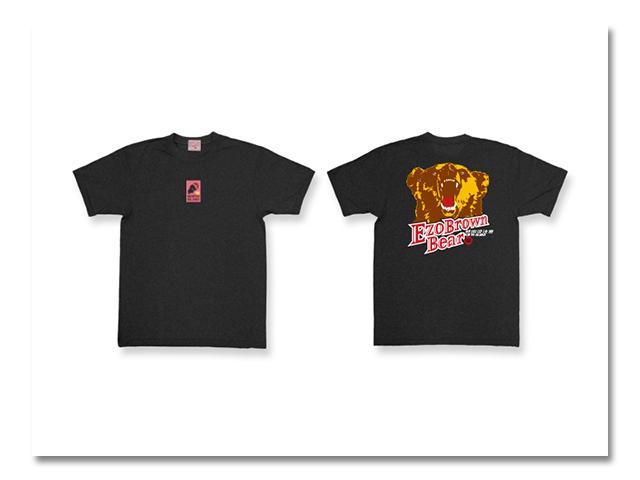 Tシャツ熊出没2003 黒