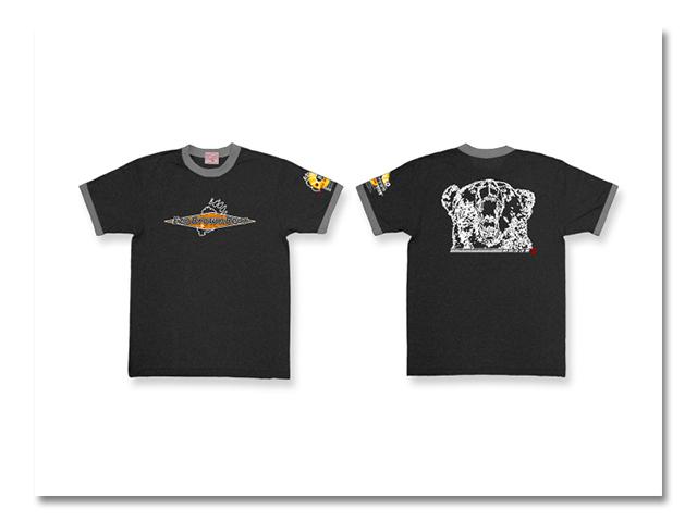 Tシャツ Wリンガー 熊出没'05