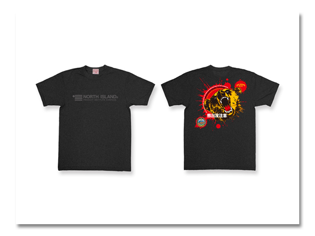 Tシャツ 熊出没 2012 黒