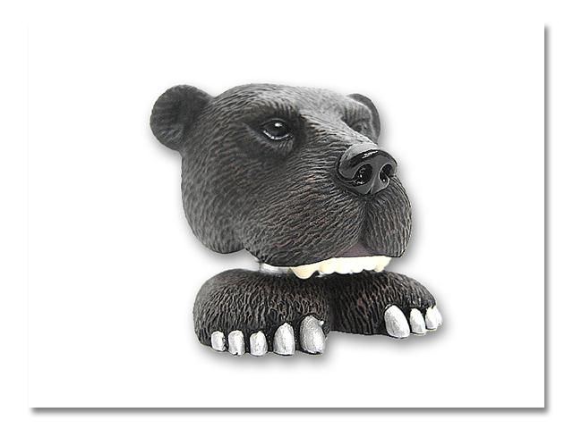 熊頭 サクッとクリップ
