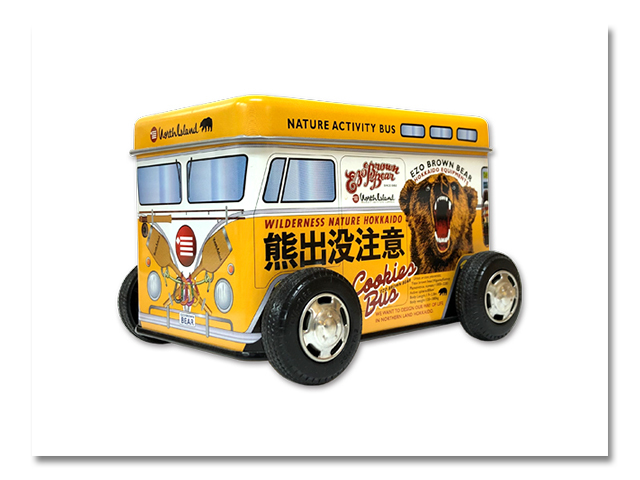 熊出没注意クッキーバス 『とうきびバタークッキー』