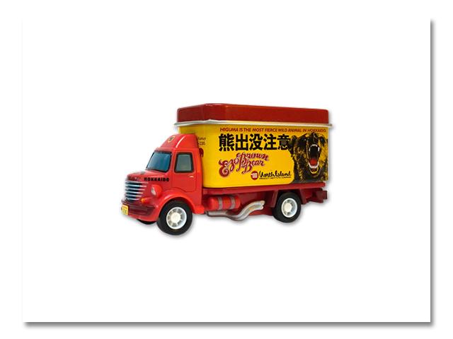 プルバックトラック 熊出没注意