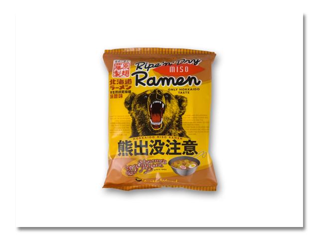 """熊出没注意 """"味噌ラーメン"""" 10食入"""