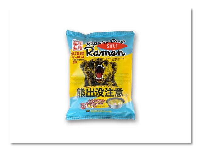"""熊出没注意 """"塩ラーメン"""" 10食入"""