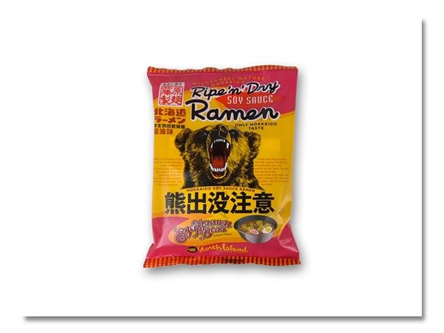 """熊出没注意 """"醤油ラーメン"""" 10食入"""