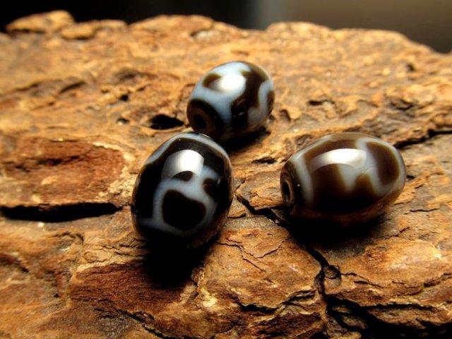 小天珠 A至純天珠 宝瓶天珠(ほうびんてんじゅ) サイズ:12ミリ前後 極上 天然石 ビーズ パワーストーン