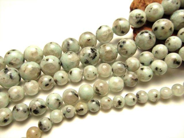 希少 NEW 人との調和を強める キウイクォーツ AA ブラジル産 6mm珠 一連 約40cm ツーソン展示会 レアストーン