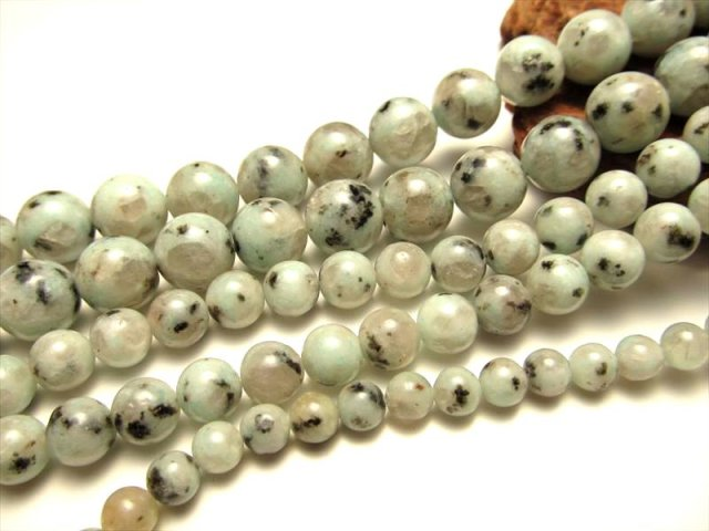 希少 NEW 人との調和を強める キウイクォーツ AA ブラジル産 12mm珠 一連 約40cm ツーソン展示会 レアストーン