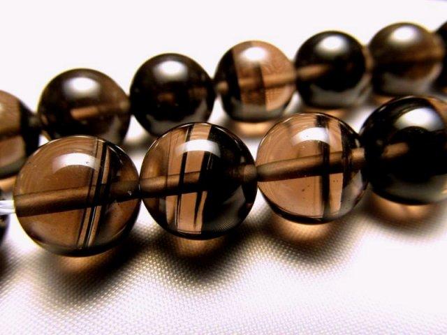 AAA 12mm珠 一連 ミッドナイトレースオブシディアン 黒曜石 約40cm 極上 天然石 ビーズ パワーストーン