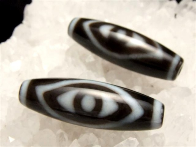 A至純天珠 仏眼天珠(ぶつがんてんじゅ) サイズ:約37ミリ 極上 天然石 ビーズ パワーストーン