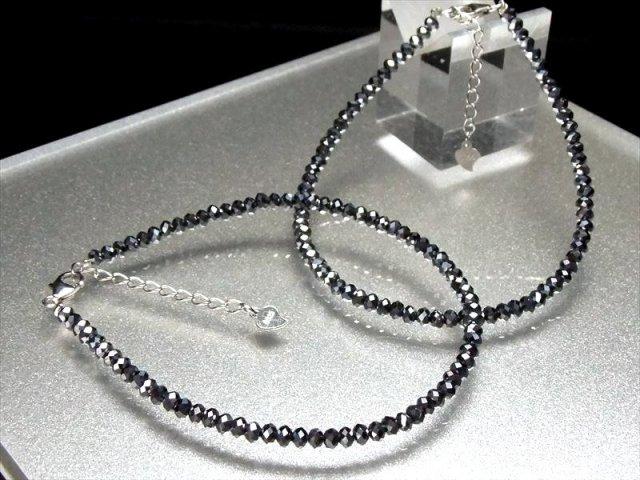 テラヘルツ鉱石 ボタンカット ブレスレット 幅3mm (アジャスター付) 取り付け簡単 手首回り調節可能 2020年 検査機関にて検査済み 本物保証 返品保証 of