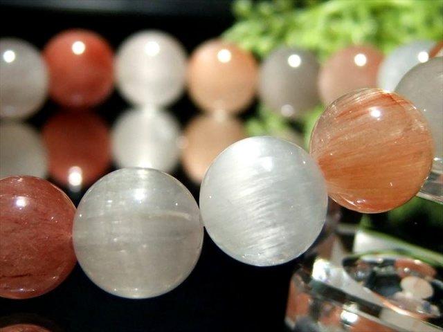 珍しい虹入り 超透明 5A ペリドット ブレスレット 10.0mm×20珠(かんらん石) 8月誕生石 一点もの ミャンマー産