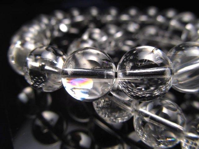 3A エレスチャルクォーツ ブレスレット 8mm-8.5mm×23珠前後(骸骨水晶)最強パワー 美麗 きらきらレインボー虹入りも ヒマラヤ産