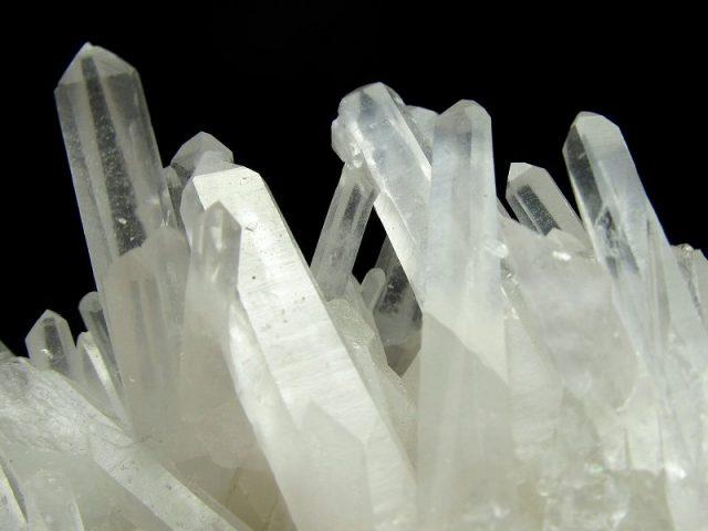 3A 四川産 針状水晶 クラスター 最大幅78mm 274g 超人気 超透明結晶 美品 浄化 原石 1点もの 四川省産