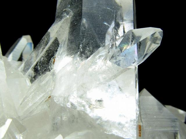 産地直送! 5A 二ヶ所貫入有り アーカンソー州産 透明水晶クラスター 最大幅163mm 重さ558g 極上結晶!透明感抜群 世界トップレベルの美しい水晶 一点もの アメリカ・アーカンソー州産