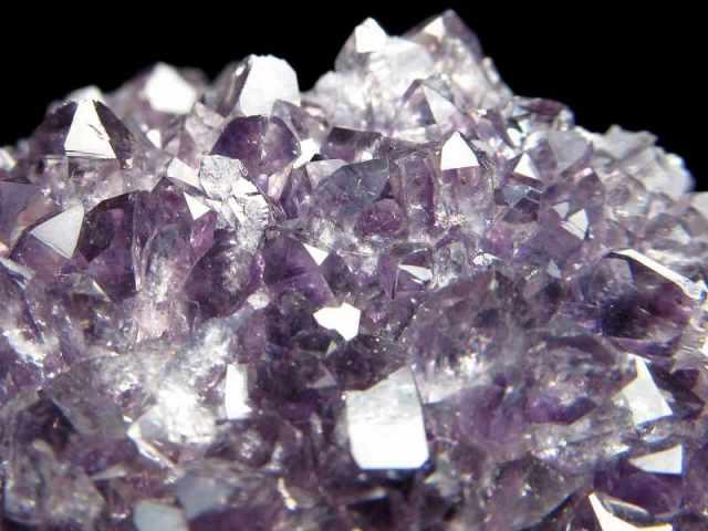 4A アメジスト ハート型クラスター 最大幅約74mm 重さ144g 極上 美麗パープル&美結晶 愛の守護石 紫水晶 1点物 ウルグアイ産