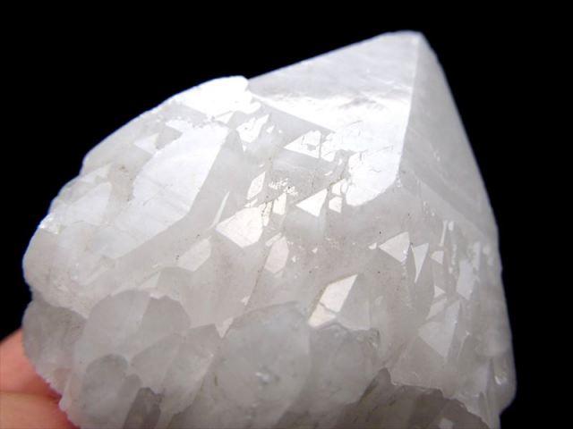 1個売り 龍鱗タイプ チベット産 ヒマラヤ水晶 クラスター 重さ約180g-200g 重厚感のあるパワフルなクラスター チベット産