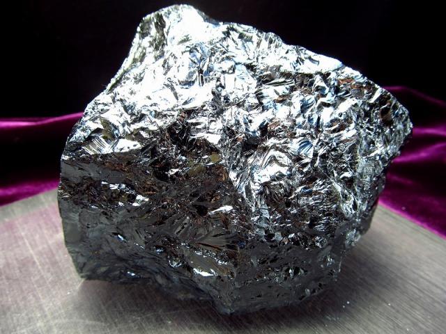 テラヘルツ鉱石 原石 最大幅98mm 654g つやつや光沢 話題の 高純度 テラヘルツ 鉱石 2020年 検査機関にて検査済み 本物保証 返品保証