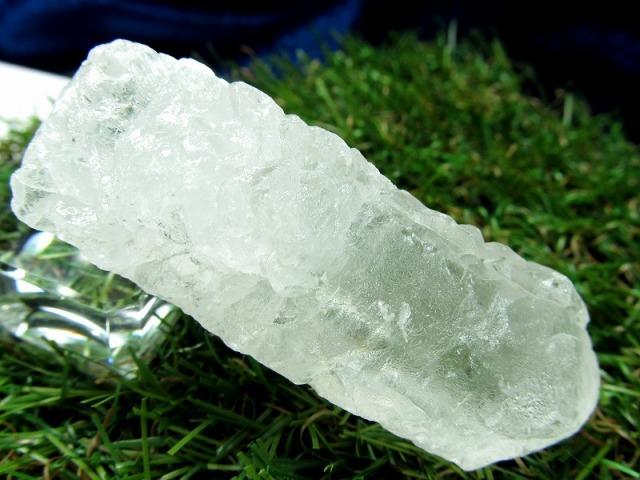 アイスクリスタル(ニルヴァーナクォーツ)原石 42g 最大幅59mm 近年発見された超希少クリスタル より強力なパワーを持つ石 蝕像水晶 ヒマラヤ産