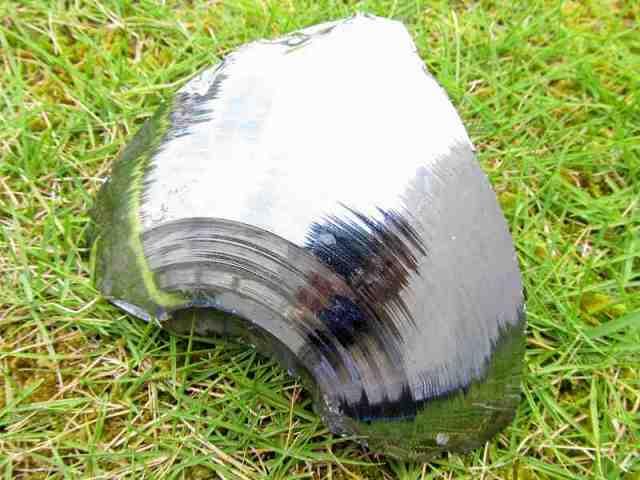 テラヘルツ鉱石 原石 最大幅124mm 重さ555g つやつや光沢 話題の 高純度 テラヘルツ 鉱石 2020年 検査機関にて検査済み 本物保証 返品保証