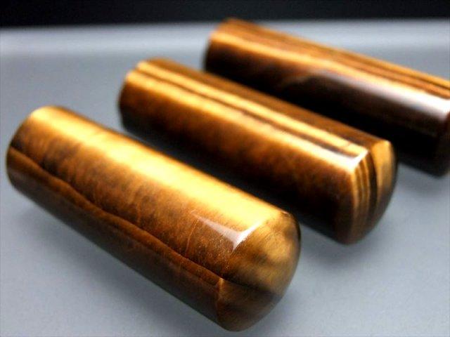 高級感抜群 5A タイガーアイ 印鑑 印面18.0mm 天然石 宝石印鑑 銀行印 実印に 高級印材 印鑑 印材