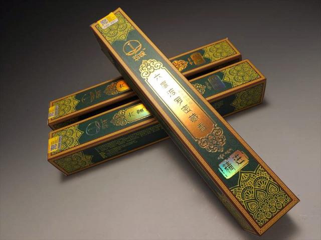 超高級 チベット族秘伝 六度波羅蜜藏香 精進(しょうじん) たっぷり1箱約150本入り 六度波羅蜜の教えの1つ 浄化用