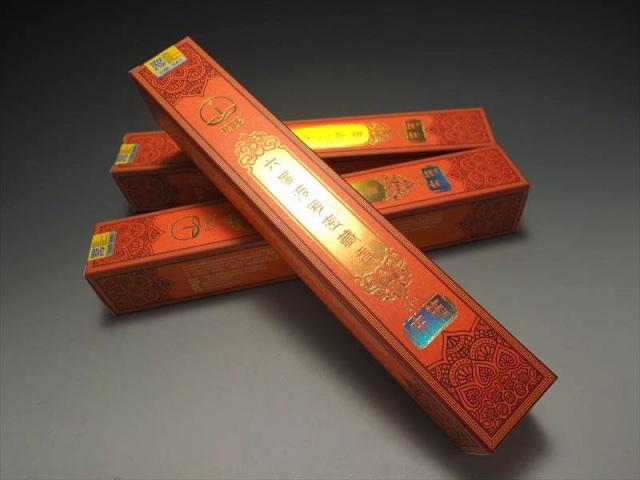 超高級 チベット族秘伝 度波羅蜜藏香 布施(ふせ) たっぷり1箱約150本入り 六度波羅蜜の教えの1つ 浄化用