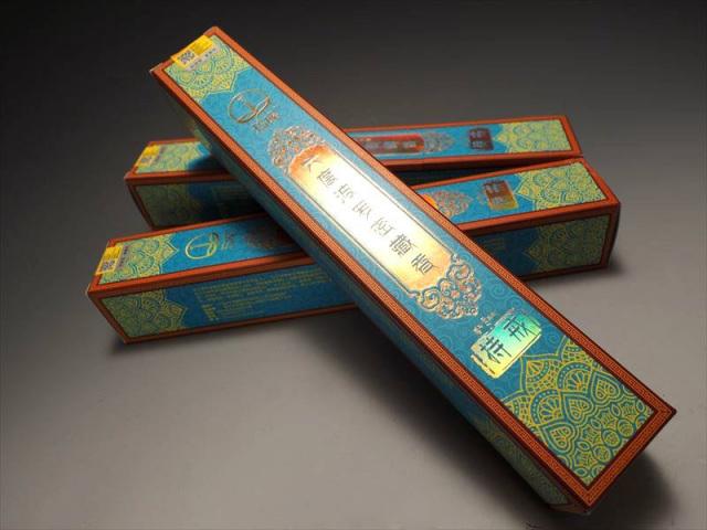 超高級 チベット族秘伝 六度波羅蜜藏香 持戒(じかい) たっぷり1箱約150本入り 六度波羅蜜の教えの1つ 浄化用