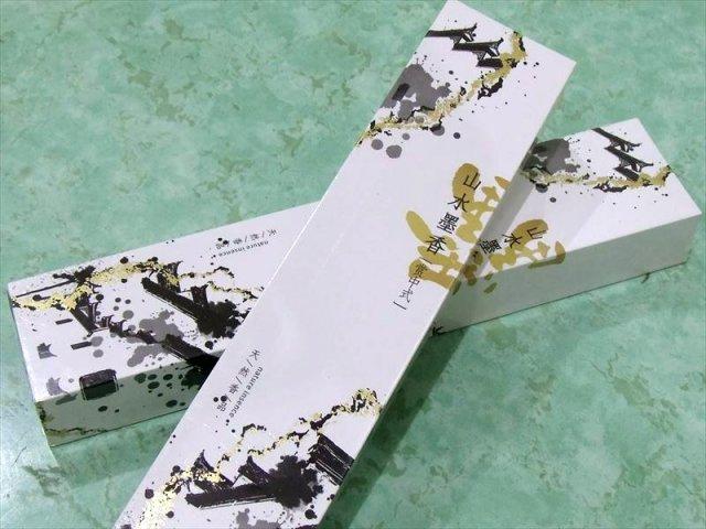 瞑想用 山水墨香 1箱約150本入り 1本約21cm スティック香 山や川、自然の霊気を集め融合 中国産