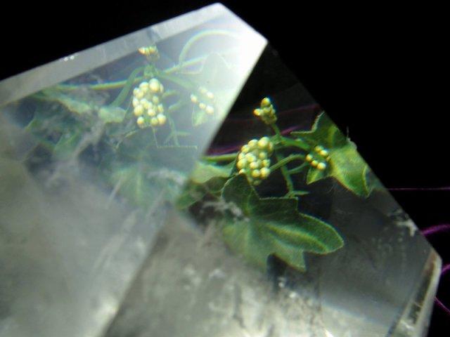 まさに氷の結晶 ロッククリスタル 不定形 天然水晶ポリッシュ 原石置物 最大幅約111mm 重さ約814g ブラジル産