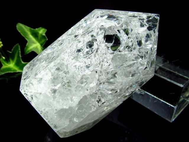 レインボークラック水晶 ポイント 228g 開運・幸運・浄化の石 大人気浄化アイテム 一点もの ブラジル産