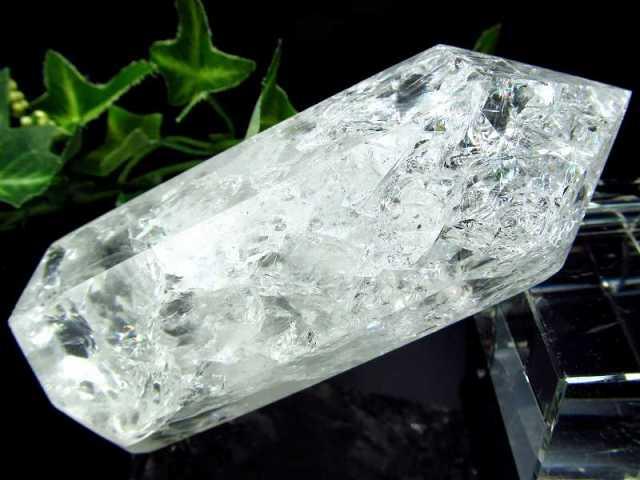 レインボークラック水晶 ポイント 196g 開運・幸運・浄化の石 大人気浄化アイテム 一点もの ブラジル産