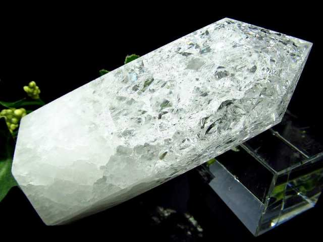 レインボークラック水晶 ポイント 188g 開運・幸運・浄化の石 大人気浄化アイテム 一点もの ブラジル産